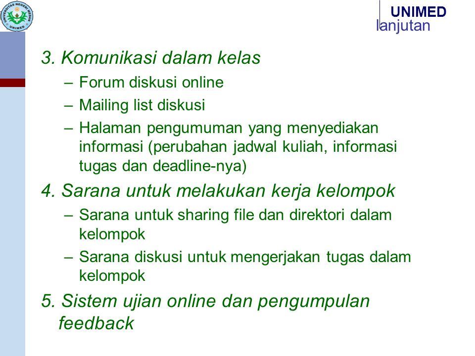 3. Komunikasi dalam kelas