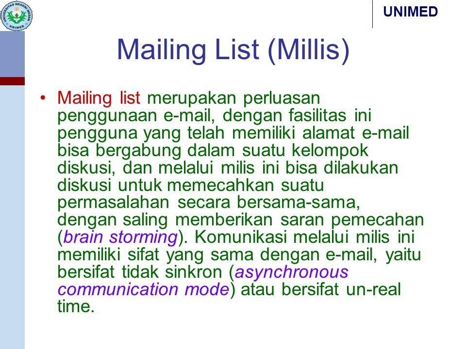 Mailing List (Millis)