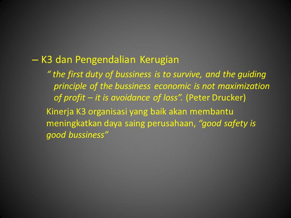 K3 dan Pengendalian Kerugian