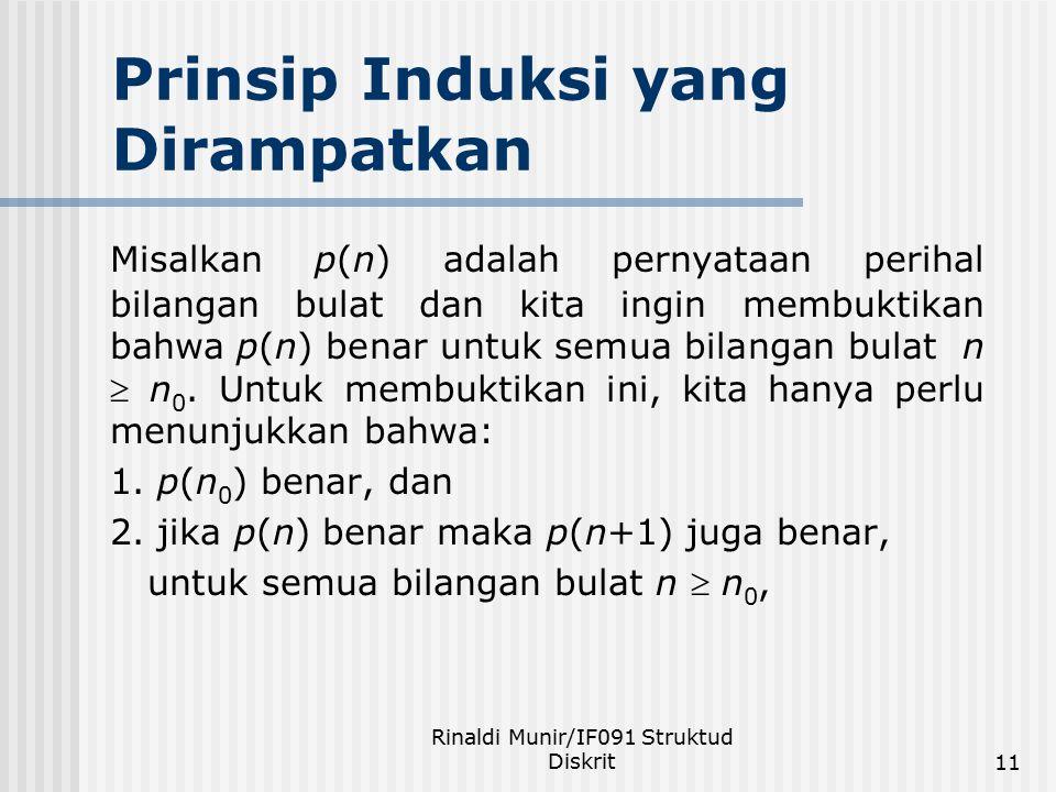 Prinsip Induksi yang Dirampatkan