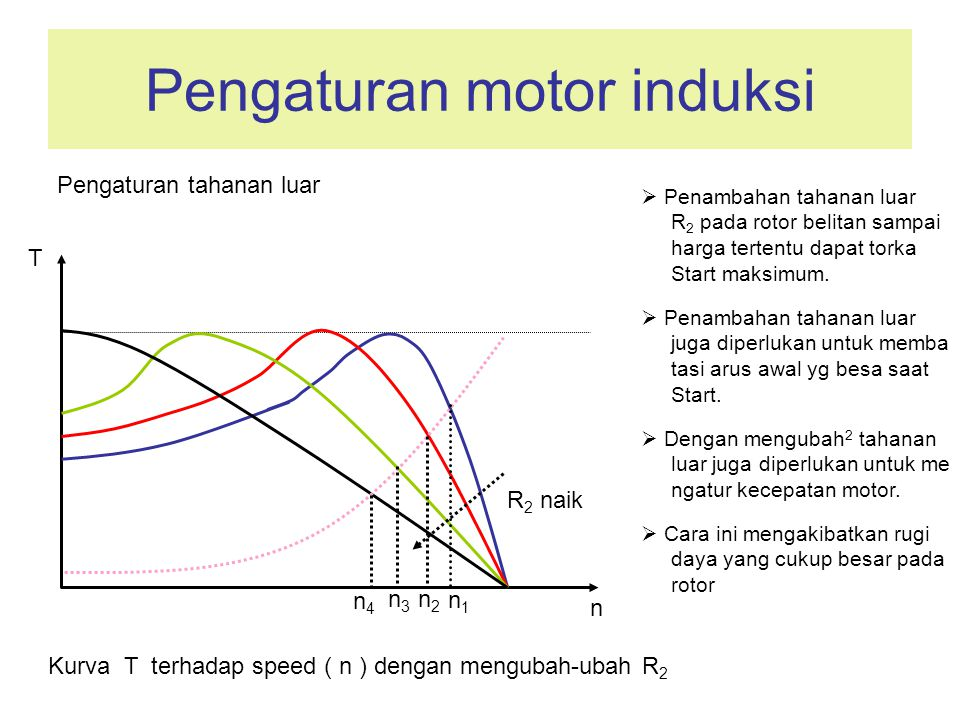 Pengaturan motor induksi