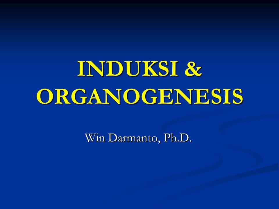 INDUKSI & ORGANOGENESIS