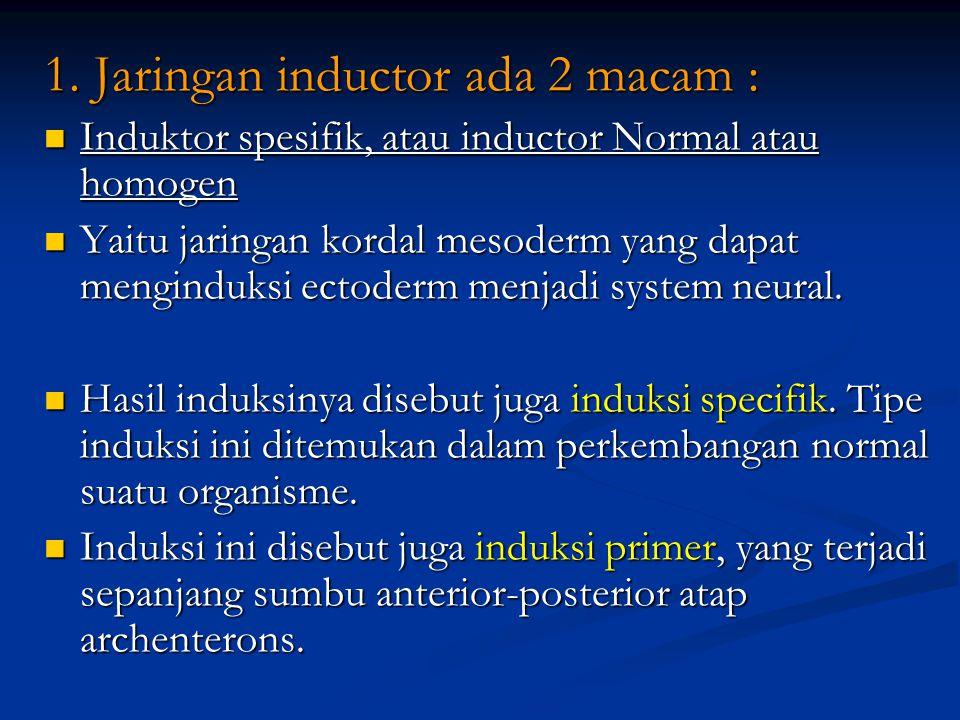 1. Jaringan inductor ada 2 macam :
