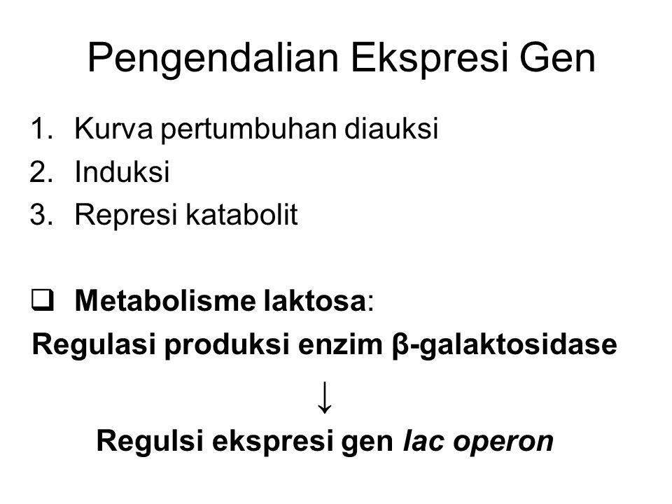 Pengendalian Ekspresi Gen