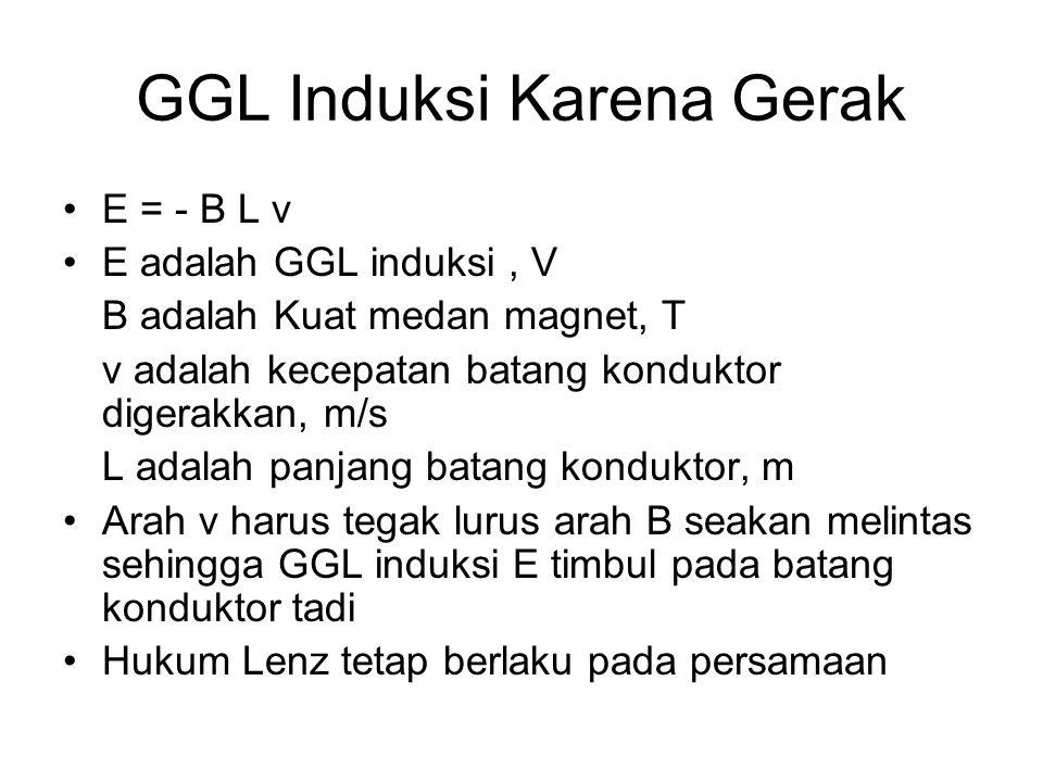 GGL Induksi Karena Gerak