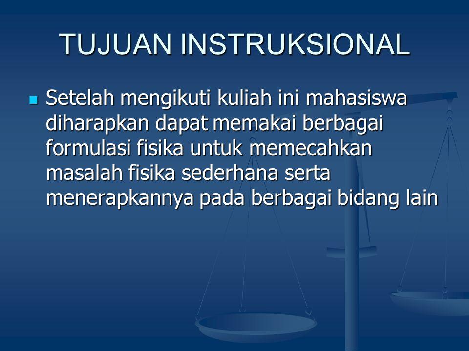TUJUAN INSTRUKSIONAL