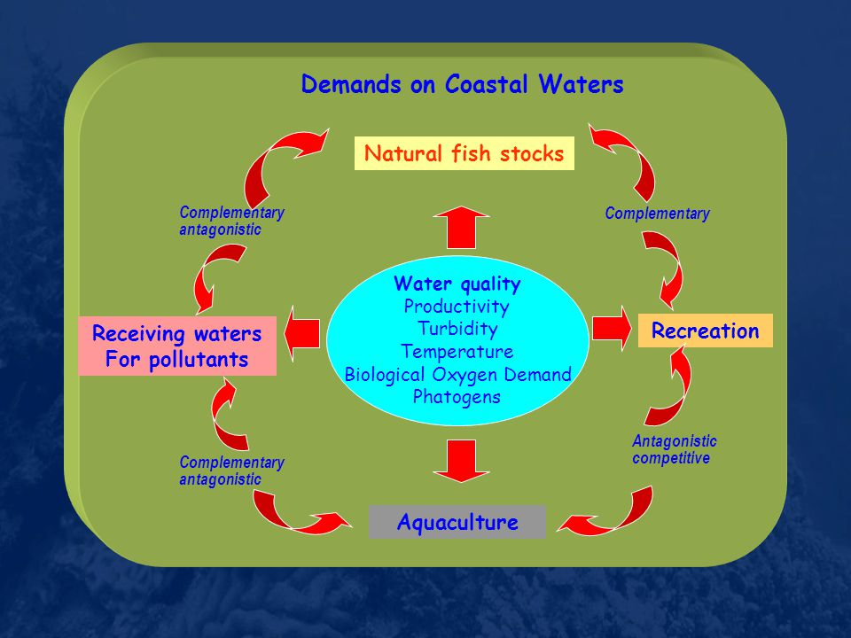 Receiving waters For pollutants