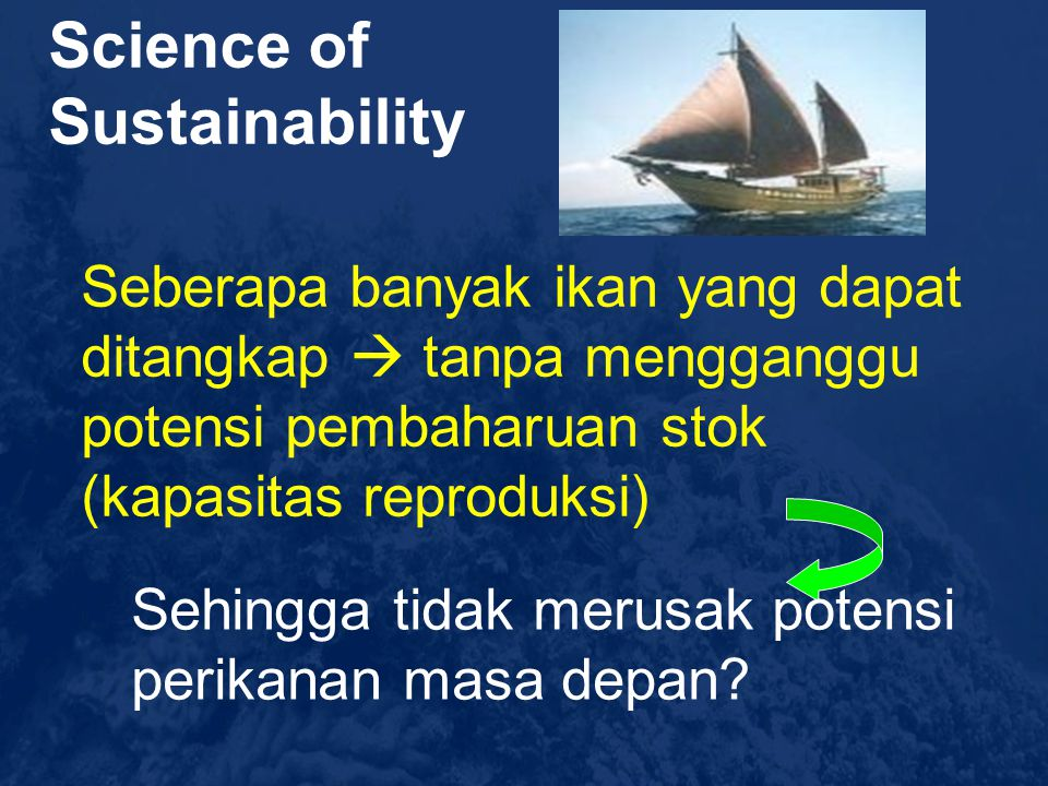 Science of Sustainability