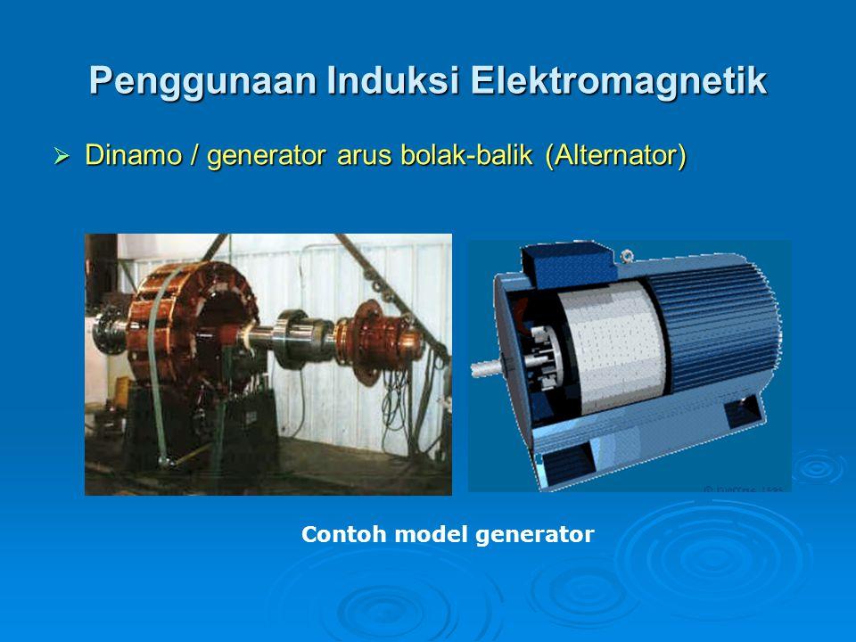 Penggunaan Induksi Elektromagnetik