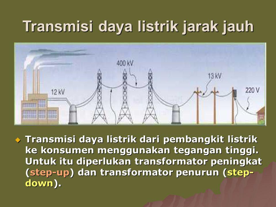 Transmisi daya listrik jarak jauh