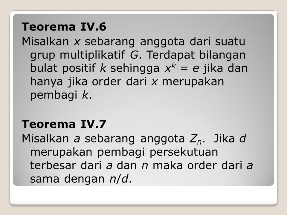 Teorema IV.6