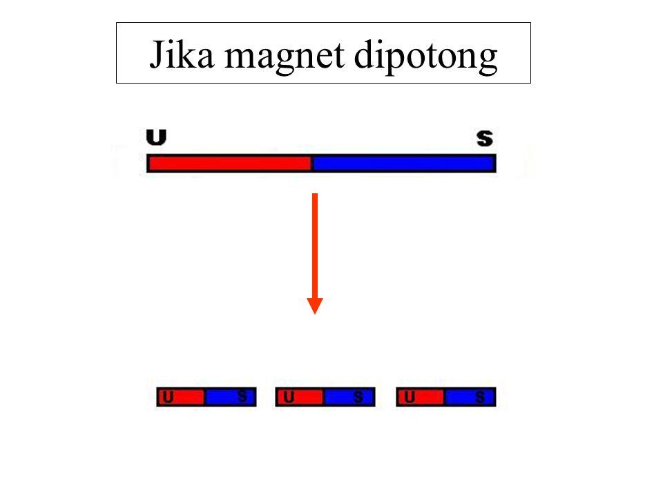 Jika magnet dipotong