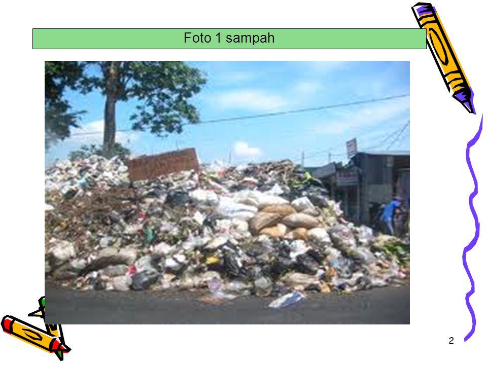 Foto 1 sampah