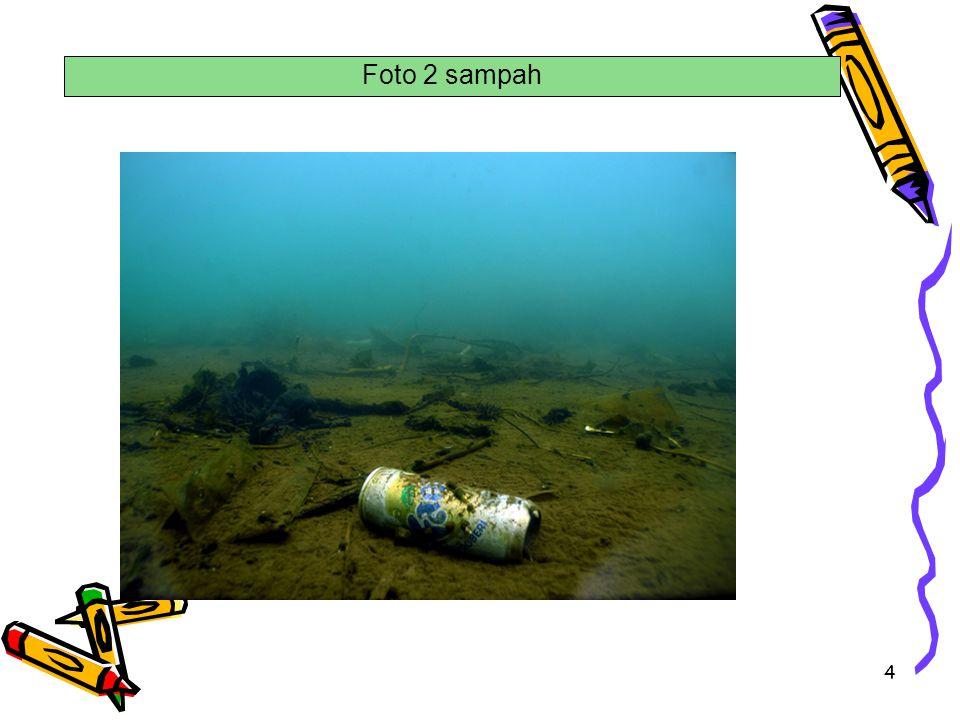 . Foto 2 sampah