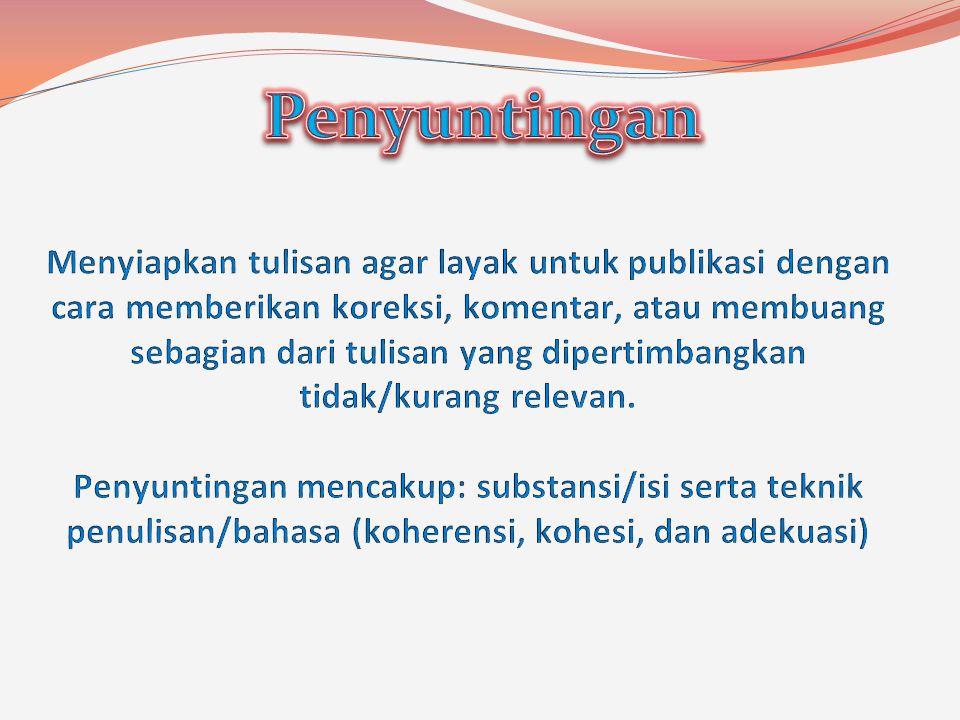 Penyuntingan