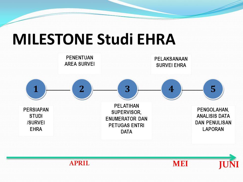 Persiapan Studi /Survei EHRA