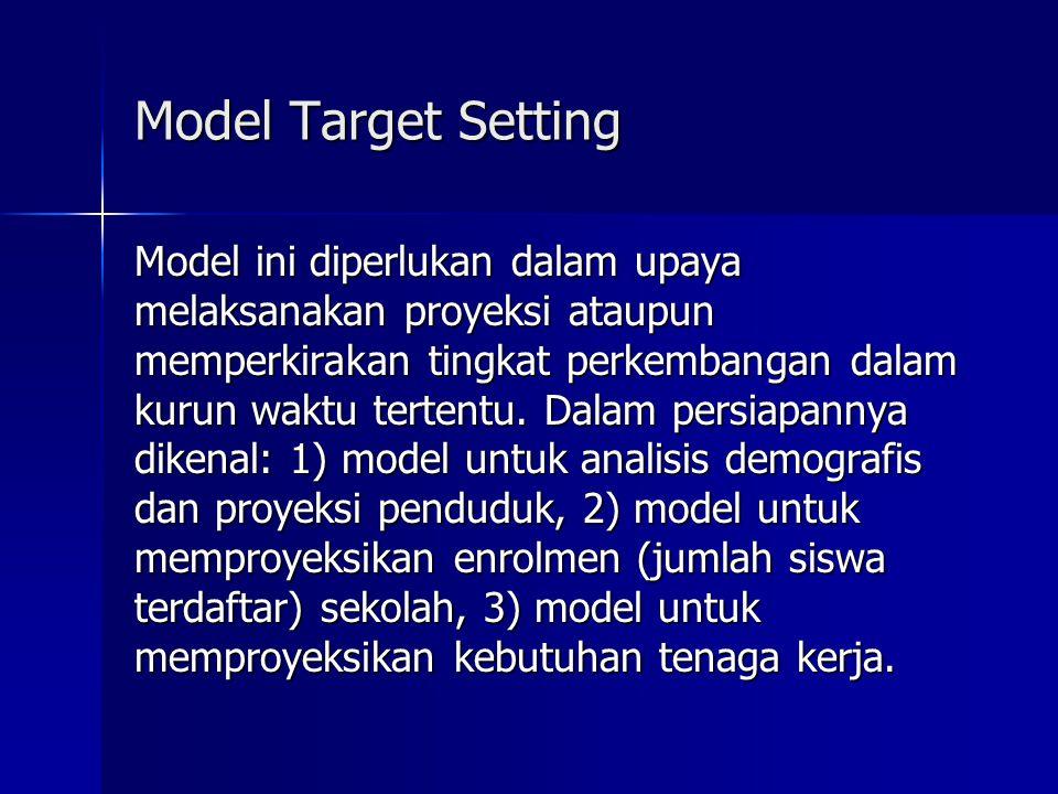 Model Target Setting