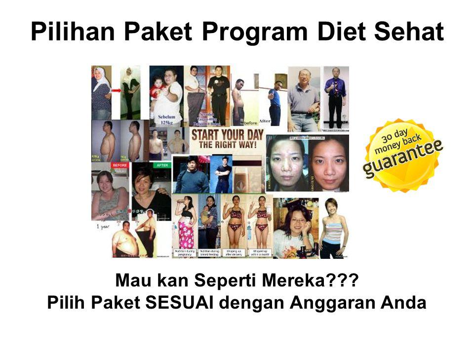 Pilihan Paket Program Diet Sehat