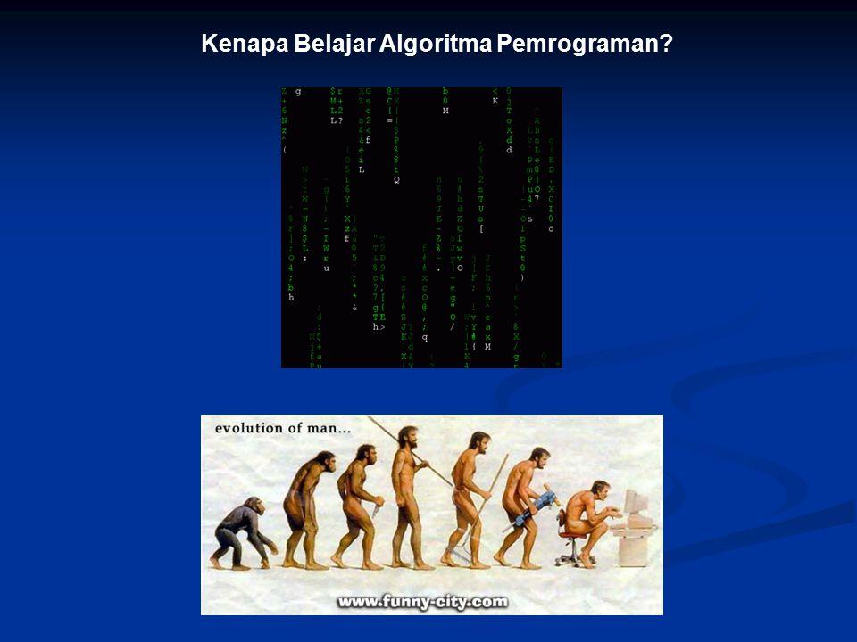 Kenapa Belajar Algoritma Pemrograman