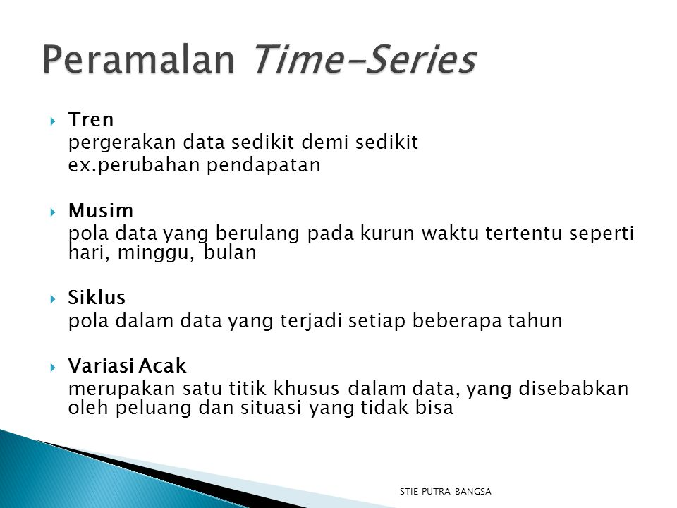 Peramalan Time-Series