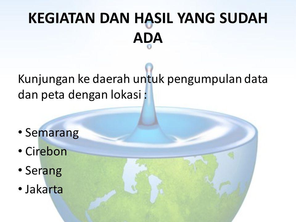 KEGIATAN DAN HASIL YANG SUDAH ADA