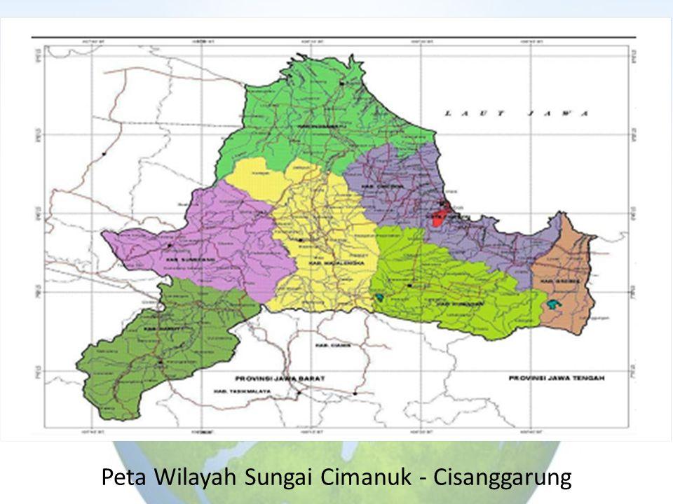 Peta Wilayah Sungai Cimanuk - Cisanggarung