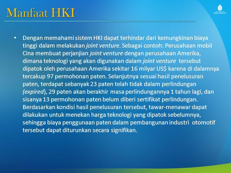 Manfaat HKI