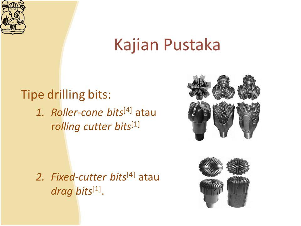 Kajian Pustaka Tipe drilling bits: