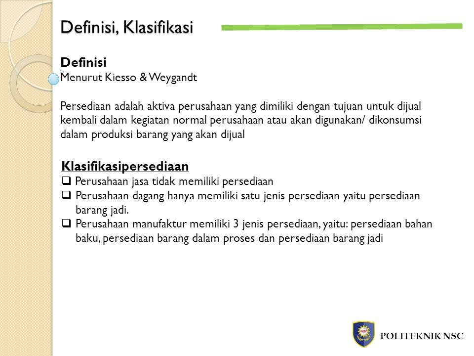 Definisi, Klasifikasi Definisi Klasifikasipersediaan