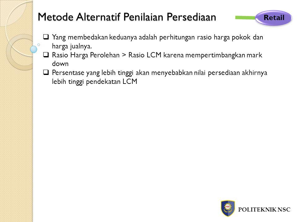 Metode Alternatif Penilaian Persediaan
