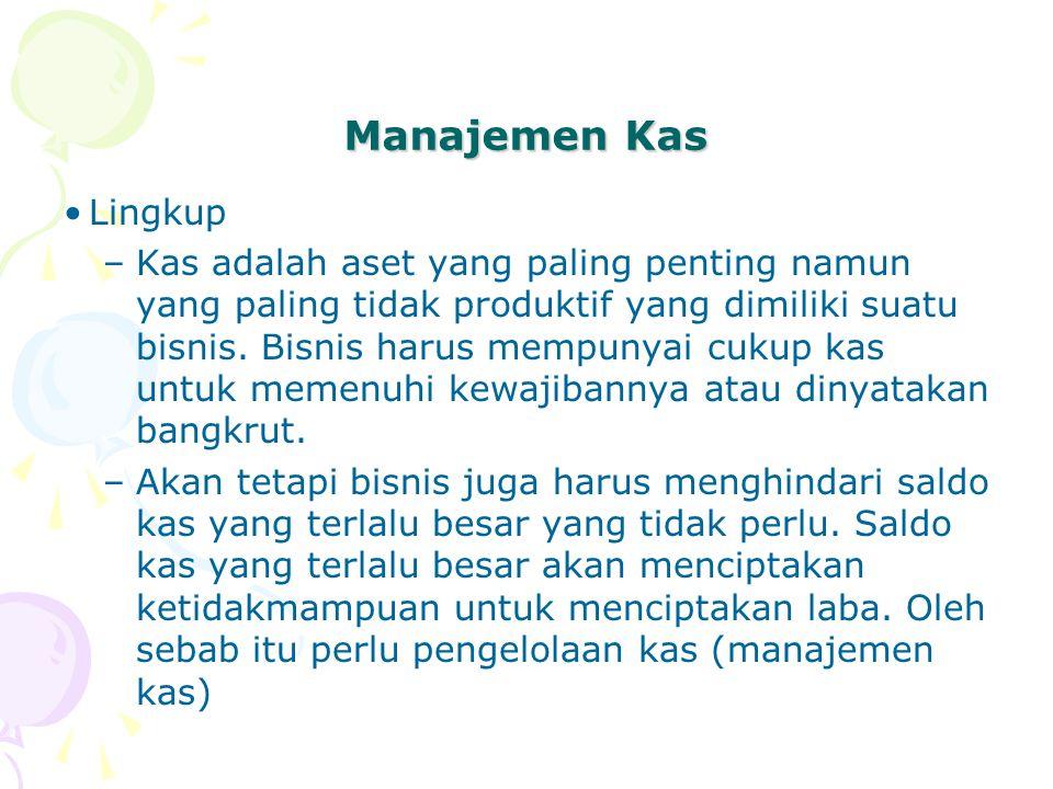 Manajemen Kas Lingkup.