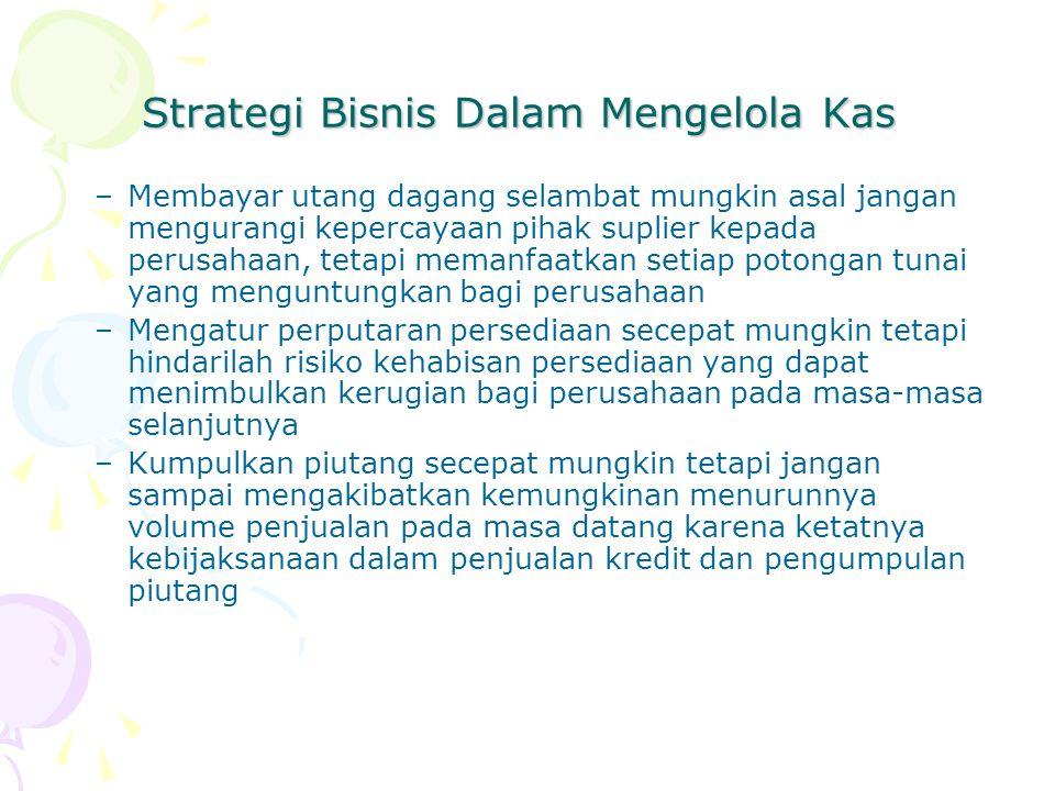 Strategi Bisnis Dalam Mengelola Kas
