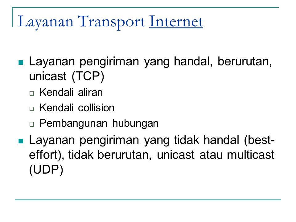 Layanan Transport Internet