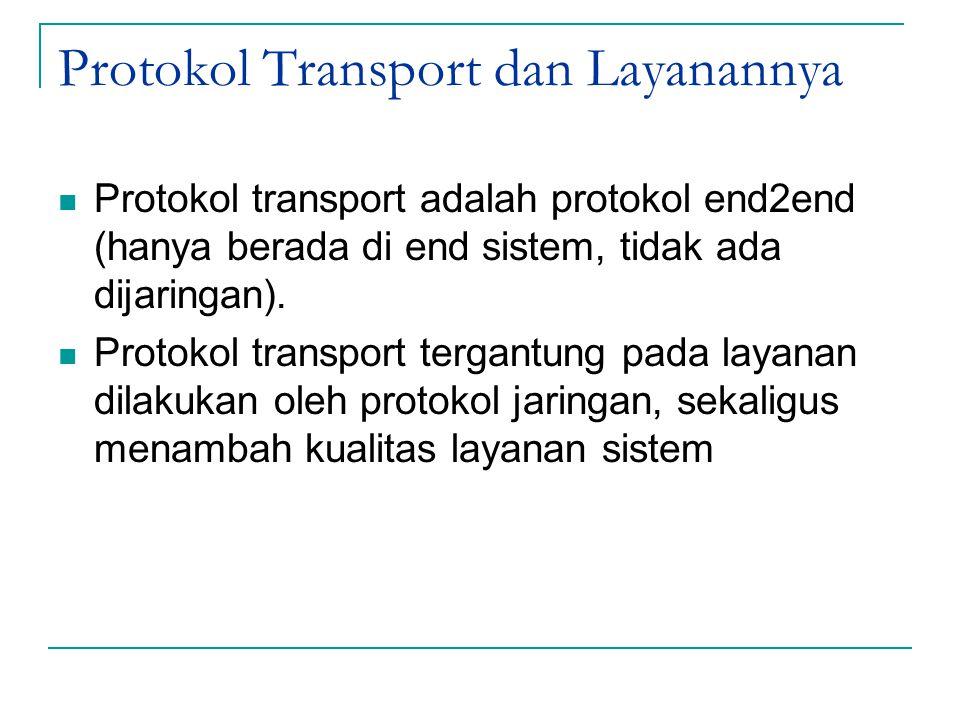 Protokol Transport dan Layanannya