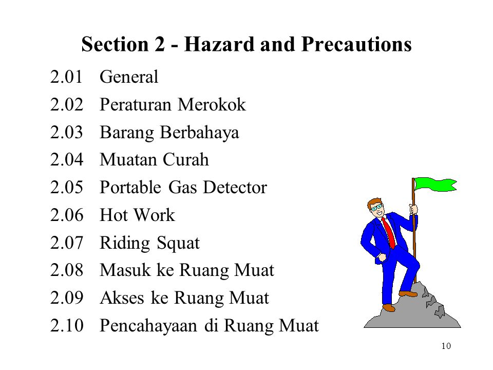 Section 2 - Hazard and Precautions