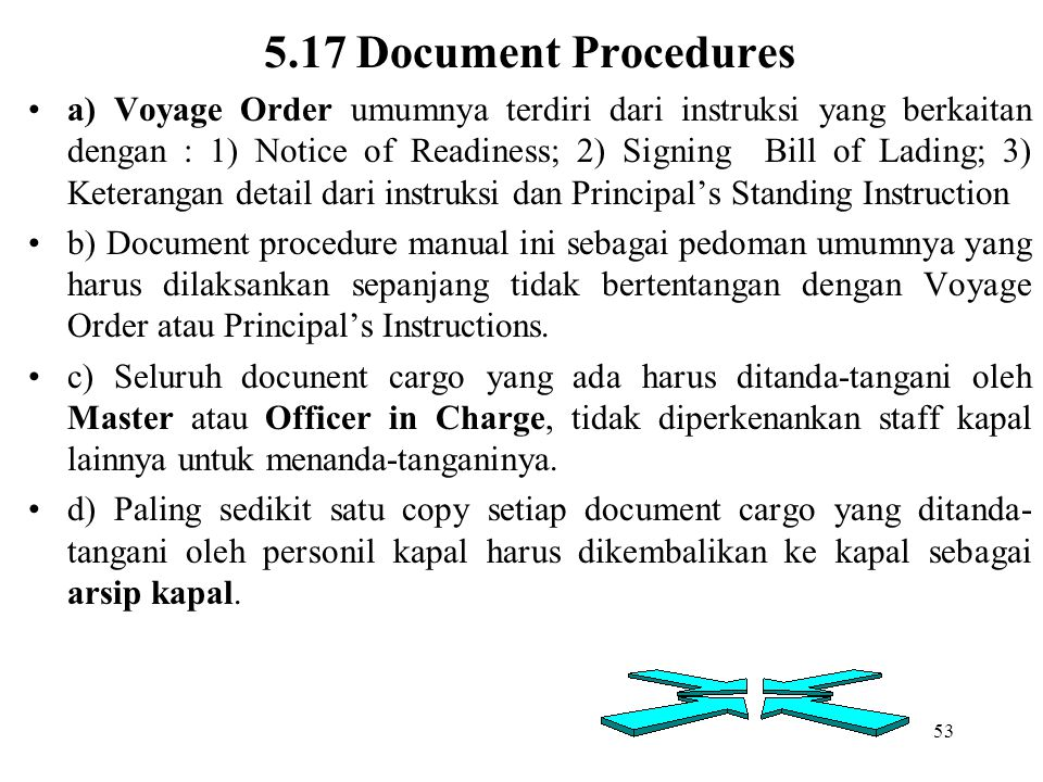 5.17 Document Procedures