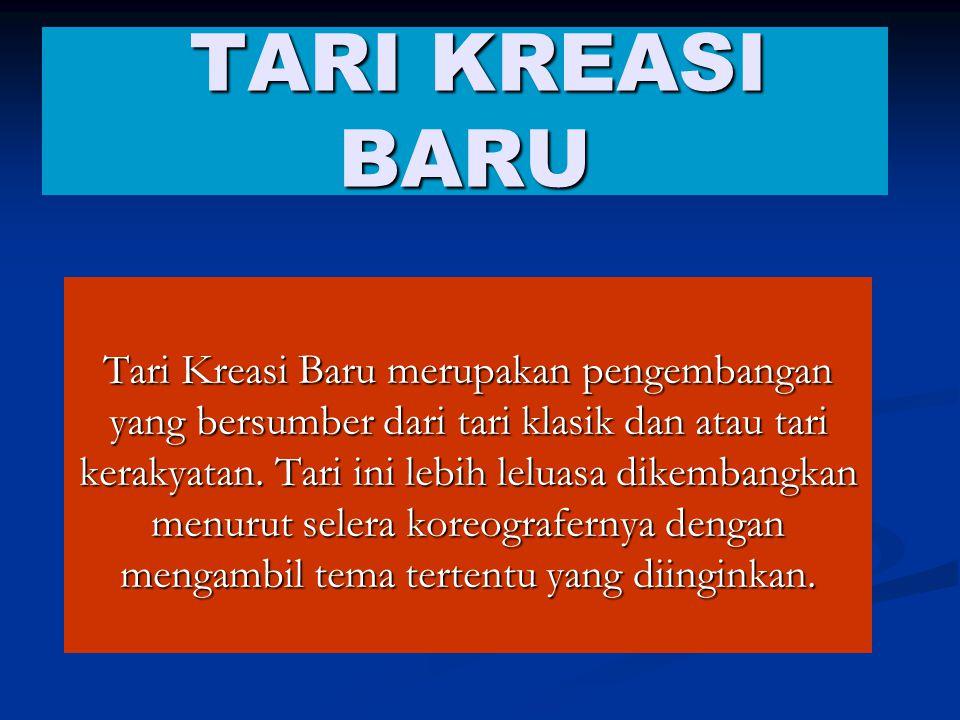 TARI KREASI BARU