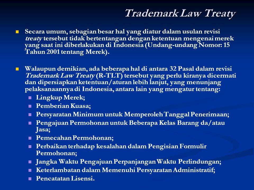 Trademark Law Treaty