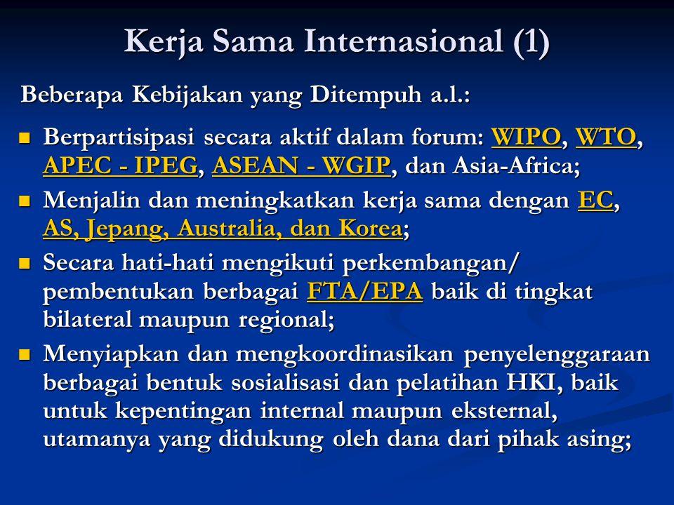 Kerja Sama Internasional (1)