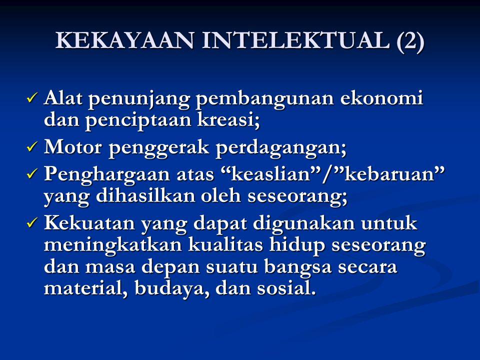 KEKAYAAN INTELEKTUAL (2)