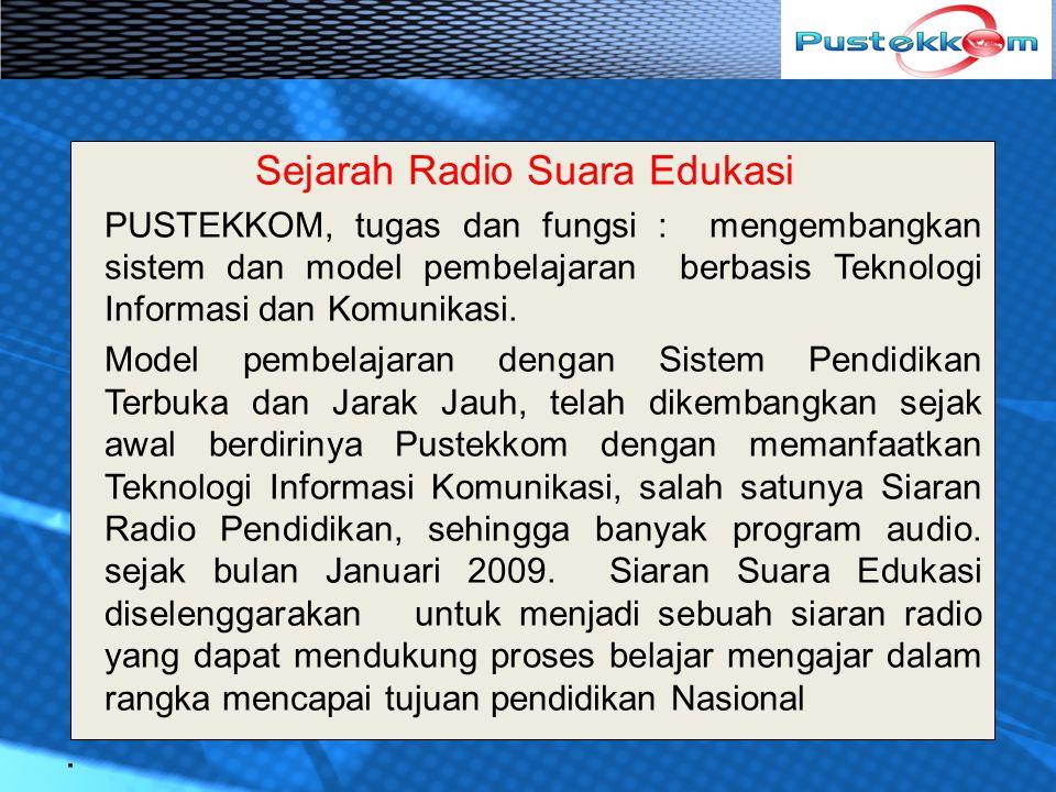 Sejarah Radio Suara Edukasi
