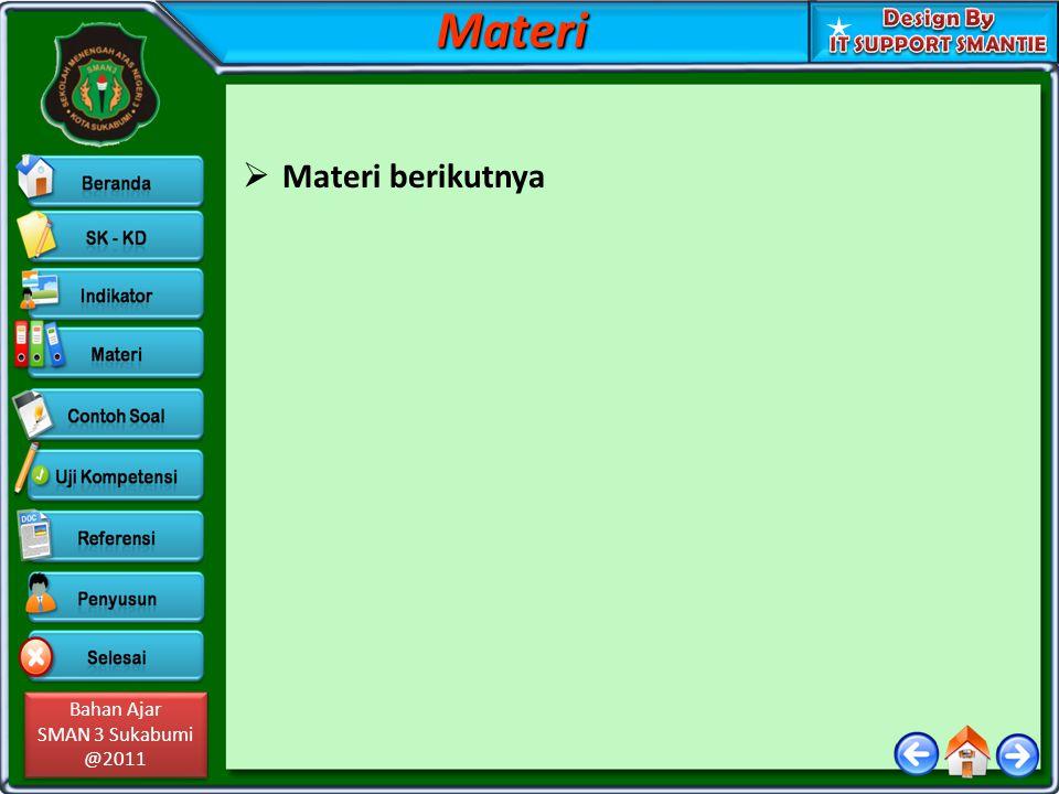 Materi Materi berikutnya