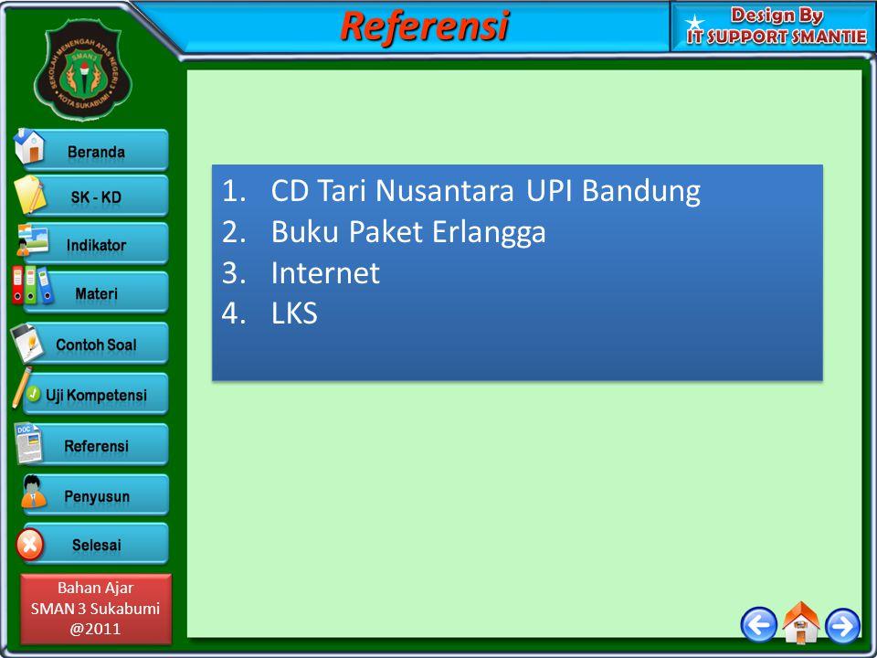 Referensi CD Tari Nusantara UPI Bandung Buku Paket Erlangga Internet