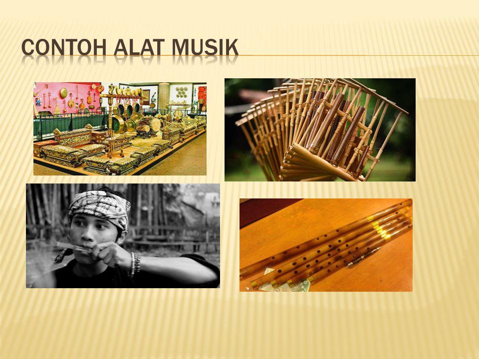 Contoh alat musik
