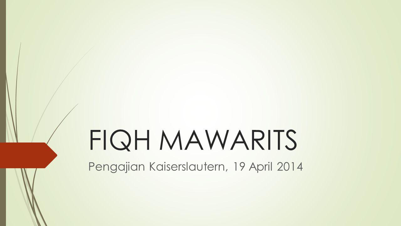 Pengajian Kaiserslautern, 19 April 2014