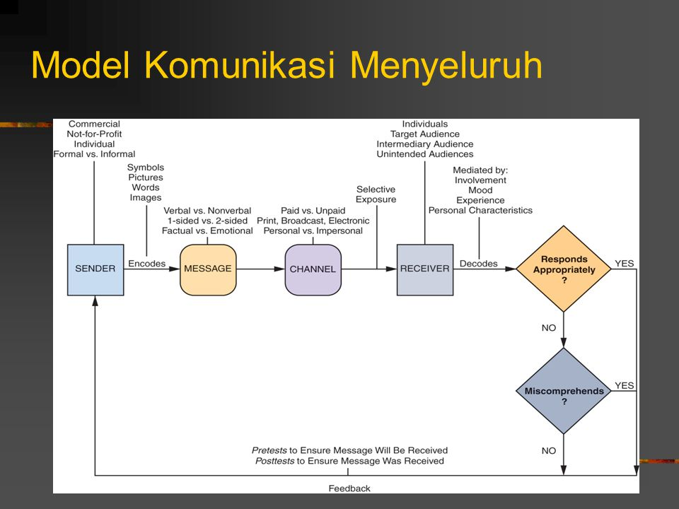 Model Komunikasi Menyeluruh
