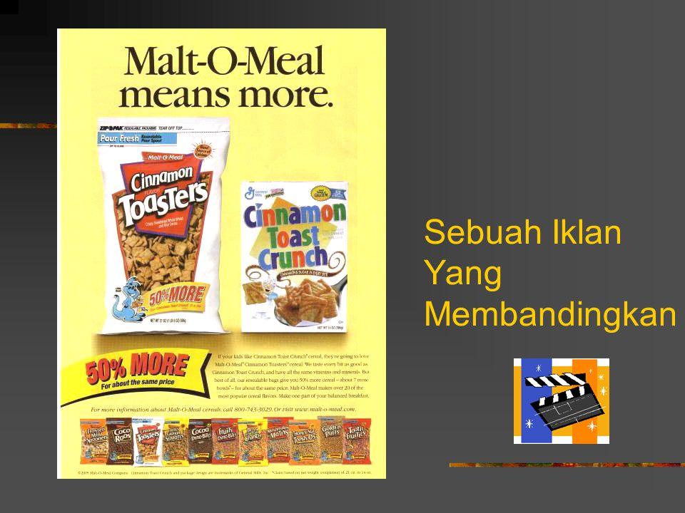 Sebuah Iklan Yang Membandingkan