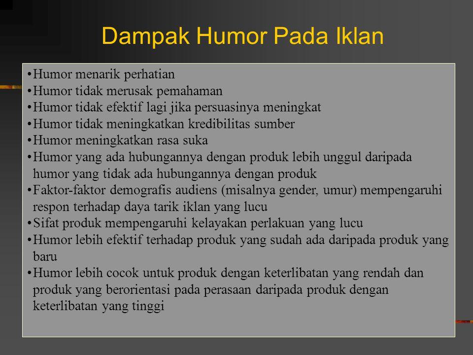Dampak Humor Pada Iklan
