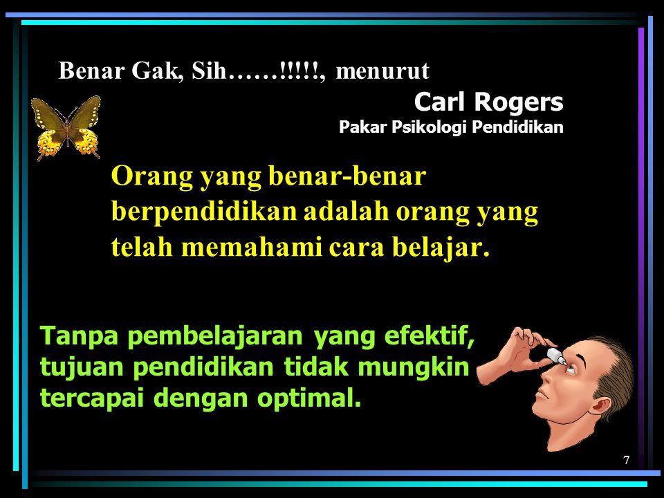Carl Rogers Pakar Psikologi Pendidikan