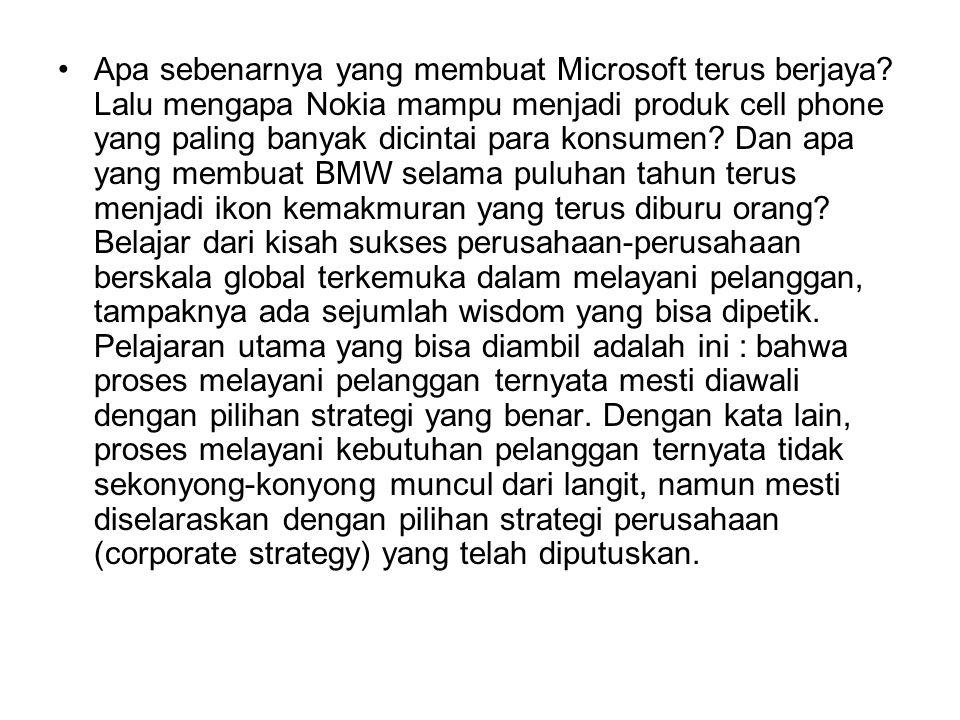 Apa sebenarnya yang membuat Microsoft terus berjaya